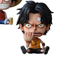 Action figure One Piece Monkey confident Luffy GK mini Portgas D Ace