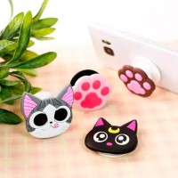 POP SOCKET 3D HANDPHONE KARAKTER POPSOCKET PVC MOTIF KARAKTER CARTOON