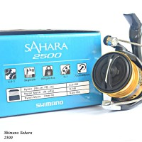 Reel Shimano Sahara FI 2500 (Seri Tahun 2018 GARANSI RESMI)