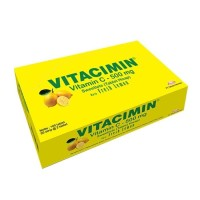 vitacimin c 500mg / 100 tablet perbox / vit c 50 strip box