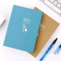 Buku Planner 365 Hari Jurnal Daily Monthly Yearly