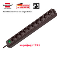 Brennenstuhl Stop Kontak 10 Socket Lubang Colokan Listrik - Eco Line