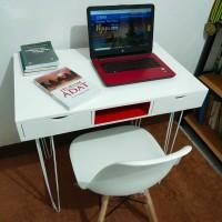 meja kantor laci minimalis