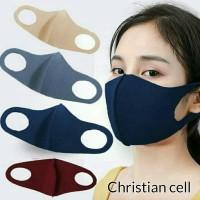 Masker Kain Scuba Korea - (Bisa dicuci)High Quality