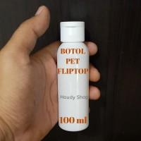 BOTOL FLIPTOP 100 ML PET