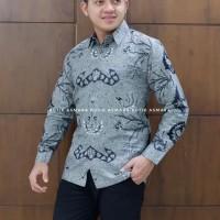 tumurun Klasik kemeja furing batik solo pria lengan panjang - Panjang, M