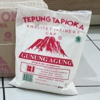 [Satuan] Tepung Tapioka / Sagu GUNUNG AGUNG 500 gram / 500gr