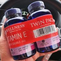 Wellness Vitamin E Twin Pack 60 tabs + 60 tabs