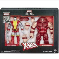Marvel Legends Juggernaut and Colossus 2 Pack 80th Anniversary legend