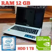 Gaming ASUS X450J Core i7-4720HQ RAM 12GB | Laptop bukan ROG MSI
