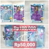Mainan Anak/Boneka Barbie Frozen Princess