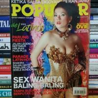 Majalah popular cover dj madame ovie plus poster edisi agustus 2007