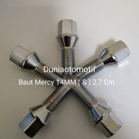 Baut Mercy 14MM Pendek 2,7 Cm