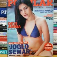 Majalah popular cover devi ambia masih dilengkapi poster januari 2003