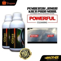 Brother glass Polish 250 ml/pembersih jamur kaca