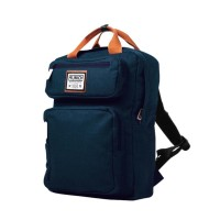 BACKPACK MUNICH RETRO UTILITY BP BLUE JEANS