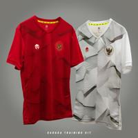 MILLS Timnas Baju Latihan Garuda Training Jersey , Code 1013GR - XS, Merah