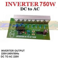 TERLENGKAP KIT INVERTER DC to AC 220V 750W TERLARIS
