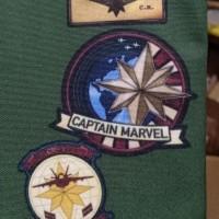 Pouch Captain Marvel Legends EndGame End game air star force avengers