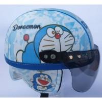 DMS Helm anak doraemon (model retro) tersedia helm BOGO CENTRO INK KYT