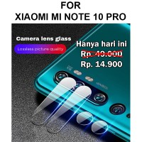 Tempered Glass Xiaomi Mi Note 10 Pro anti gores kamera kaca CAMERA