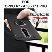 Case Oppo A7 - A5s - F11 Pro casing hp back cover tpu AUTO FOCUS IRING - F11 Pro