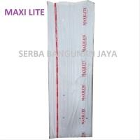 MAXILITE PVC ROOF 240 X 80 cm ASBES FIBER PVC ATAP aksesoris