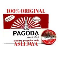 Permen Pagoda Pastiles (Rasa Strowberry)