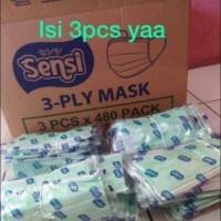 masker Sensi isi 3 pcs