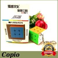 Rubik 3x3 Moyu Mini Keychain 3.5cm stickerless