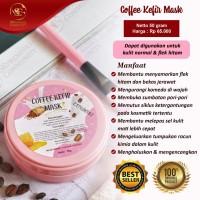 COFFEE KEFIR MASK ORIGINAL SR12!! MASKER KEFIR KOPI/ MASKER FLEK HITAM