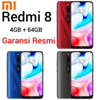 Xiaomi Redmi 8 4/64 TAM Garansi Resmi RAM 4GB 64GB