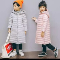 jaket winter anak musim dingin long coat ringan - 4-5 tahun