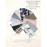 [1 lusin] Masker kain 3 PLY Bahan Katun Jepang Premium - Bisa di cuci
