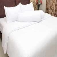 Sprei Queen Polos Rosewell Putih 160x200 cm