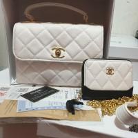 Chanel set dompet 25x9x18 hrg