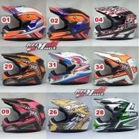 Helm Cargloss MX Cross Motif helm motocross super cross