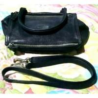 preloved tas givenchy pandora small black grained leather original