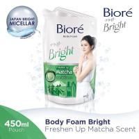 Biore Body Foam Matcha 450Ml