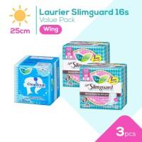 Laurier Super Slimguard Day 25cm 16S Value Pack