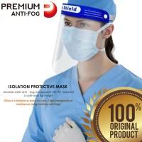 Anti Fog Face Shield Mask/Masker pelindung wajah dr Droplet / Bersin.