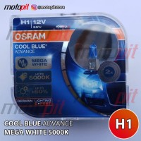 Osram CBA H1 Cool Blue Advance Lampu Halogen Putih 5000K 12V 55W CRV