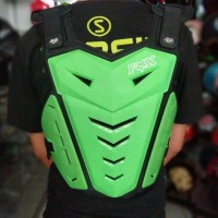 BODY PROTECTOR ROMPI CROSS FOX GREEN FLUO