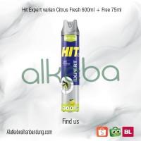 HIT Expert Citrus Anti Nyamuk Kecoa / Hit 600ml / obat nyamuk spray