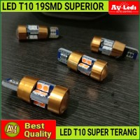 LAMPU LED T10 Extreme Bright 19 Chips