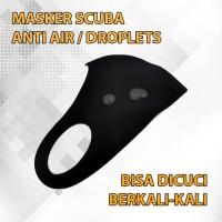 Masker Scuba Anti Air / Droplets Bisa dicuci berkali kali