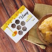 Madu Uray Pure Honeycomb / Sarang Madu Asli 250 Gr