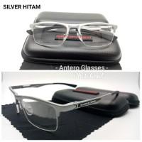 Frame Kacamata Minus Pria Porsche Design 8199 Half Frame Magnesium