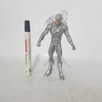 mainan action figure flash white lantern dc universe tinggi sekitar 7