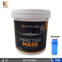 VECTOR LABS MASTER MASS GAINER 12 LBS VECTORLABS DYMATIZE SUPER 12LBS